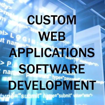 Custom web applications software development - graphic